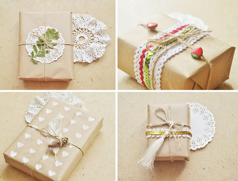Упаковка новогоднего подарка своими руками мастер класс