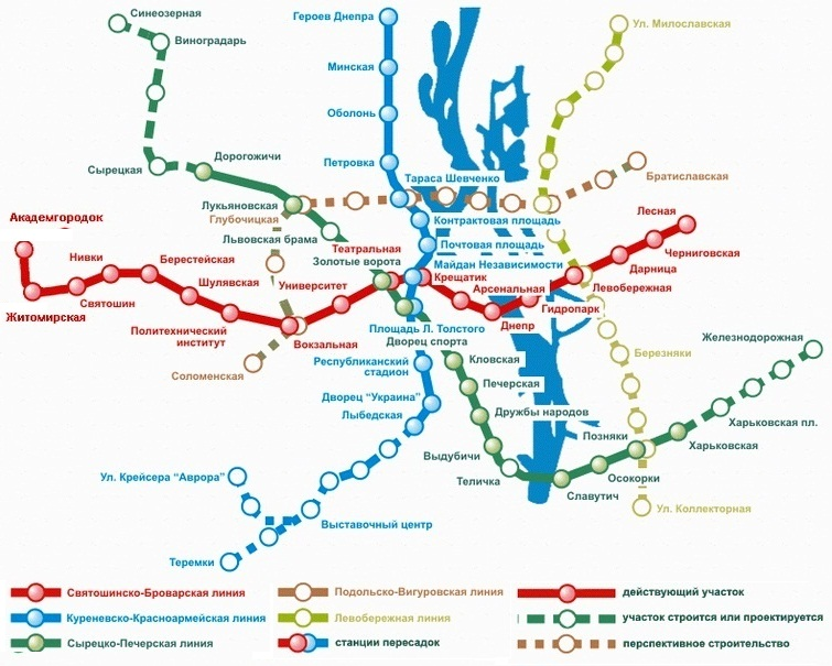 и в «жизни» метрополитена.