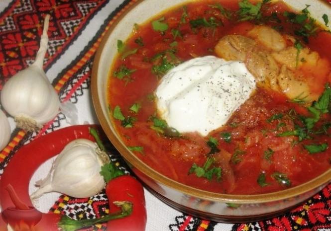 Украинские национальные блюда рецепты с фото