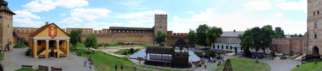 Луцьк, фото, замок, панорама
