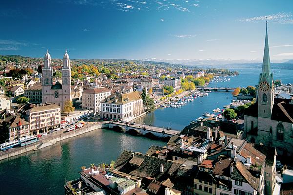 cjurih-shvejcarija Топ-5 самых дорогих городов в мире