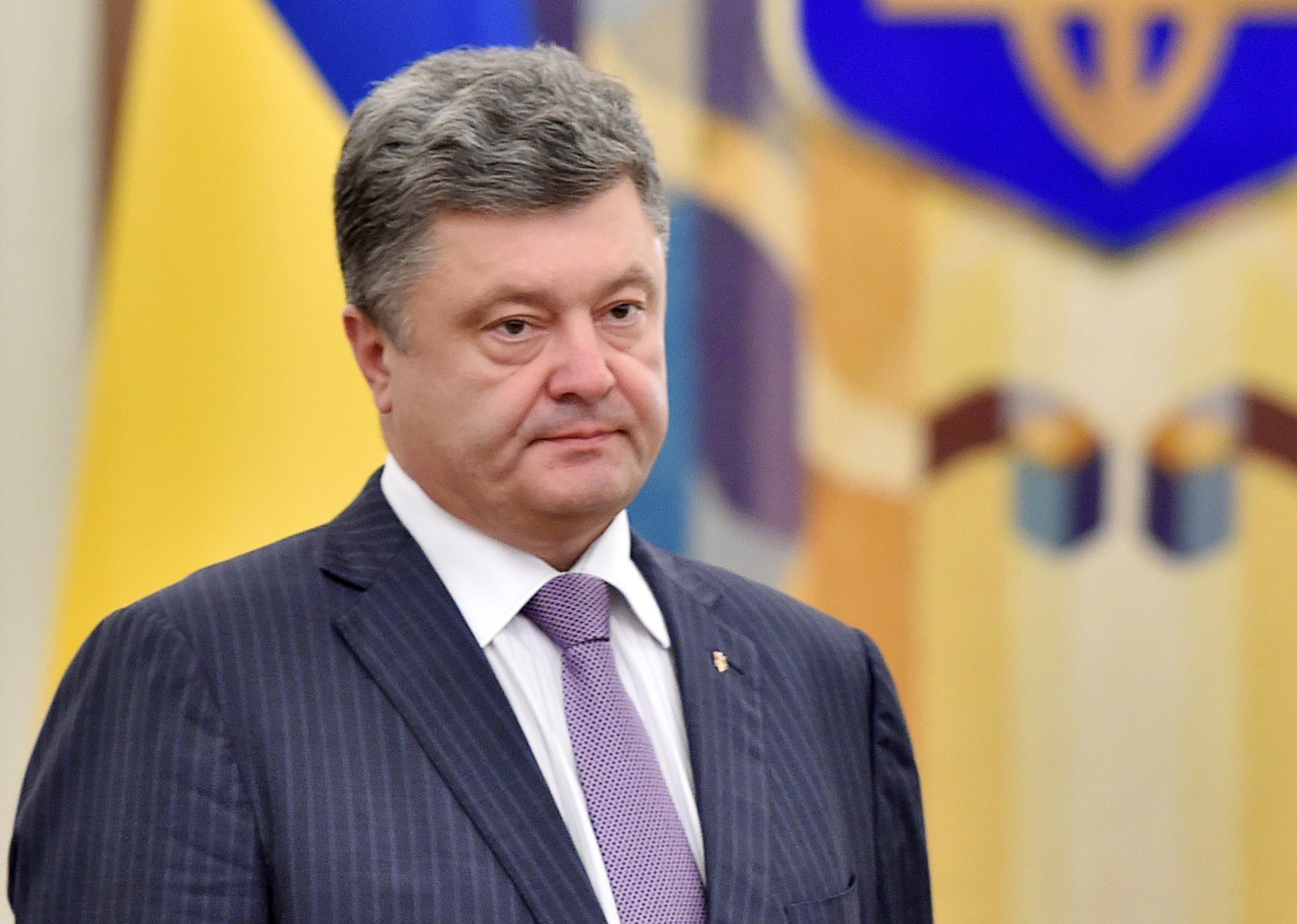 Порошенко признался жителям Донецка в любви и пожелал слушать украинский гимн