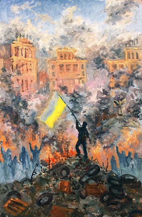 Кушнір Веста,16 р. Майдан революції 2014 рік